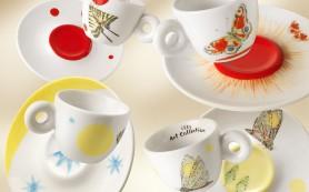 illy представляет аксессуары для кофе с рисунками Кики Смит