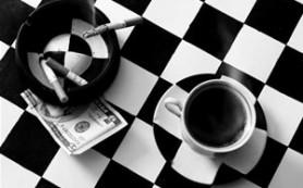 Сигарета еще вреднее с кофе