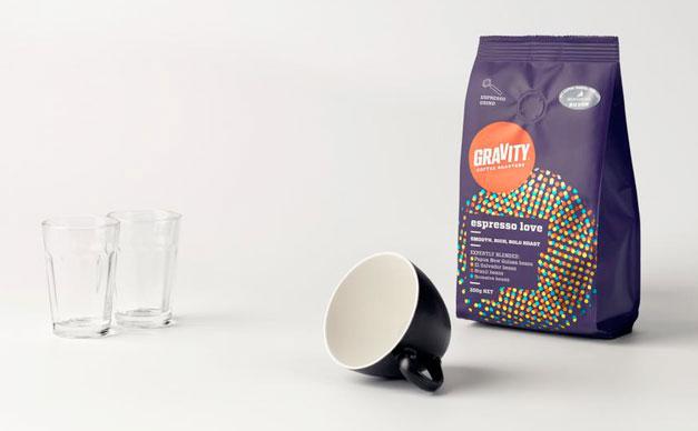 Кофе Gravity Coffee в новом дизайне