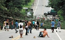 Работа на плантациях Колумбии парализована забастовкой