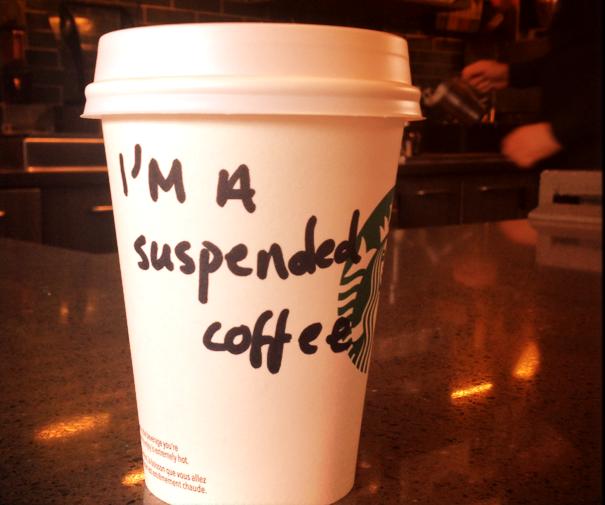 В Великобритании проект «оплаченый кофе» нравится не всем