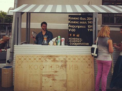 В столице появились кофейщики-передвижники