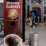 Douwe Egberts предложила бесплатный кофе за зевок
