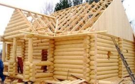 Конструкция крыши для бани
