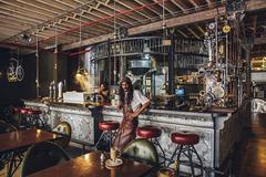 Стимпанк кофейня в Кейптауне