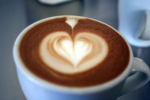 Как сделать красивый узор на кофе