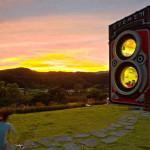 В Южной Корее открылось кафе в виде огромной фотокамеры