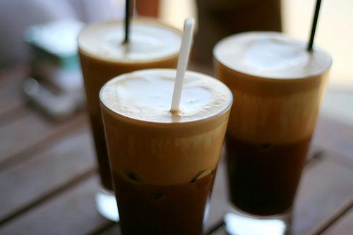 История кофе фраппе