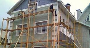 Ремонт фасада коттеджа может быть доступным и надежным