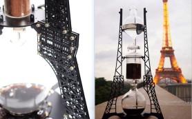 Известный корейский бренд выпустил кофемашину в виде Эйфелевой башни