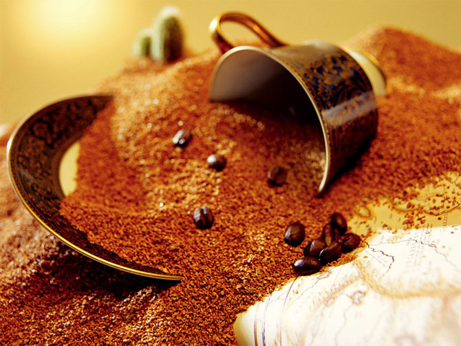 Кофе сможет избавить от запаха изо рта