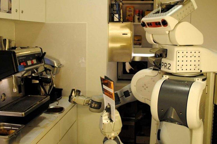 Роботы смогу готовить кофе