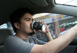 Кофе поможет сохранить концентрацию во время длительной поездки