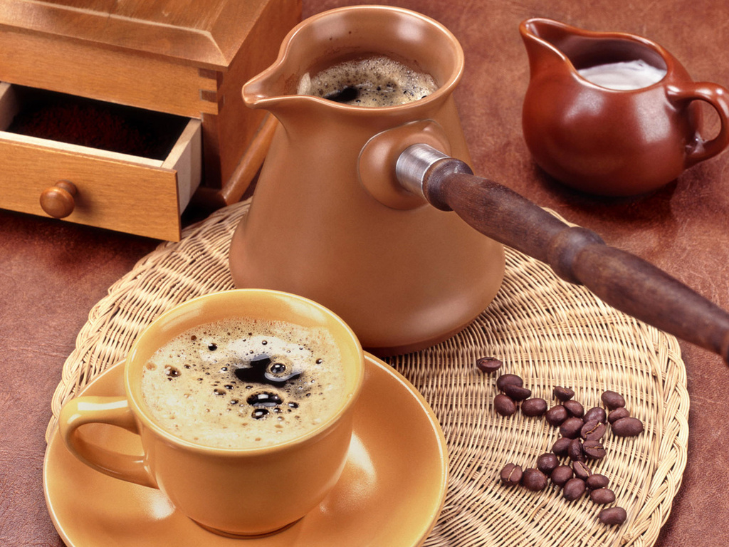 Кофе поможет устранить сухость галаз