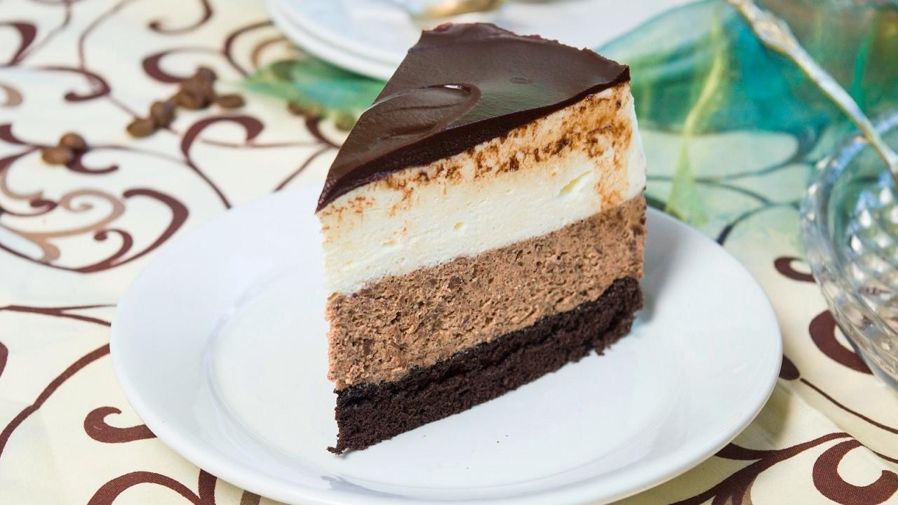 Торт «Шоколадное суфле»