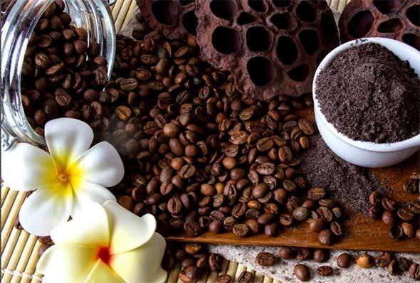 Молотый кофе с медом от целлюлита