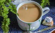 Кофе с молоком и медом