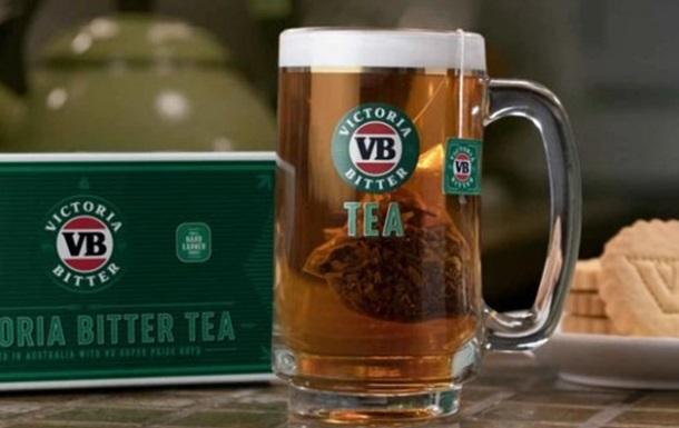 Чай со вкусом пива появился в Австралии
