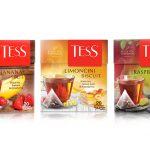 Обновленная коллекция листового чая TESS в пирамидках