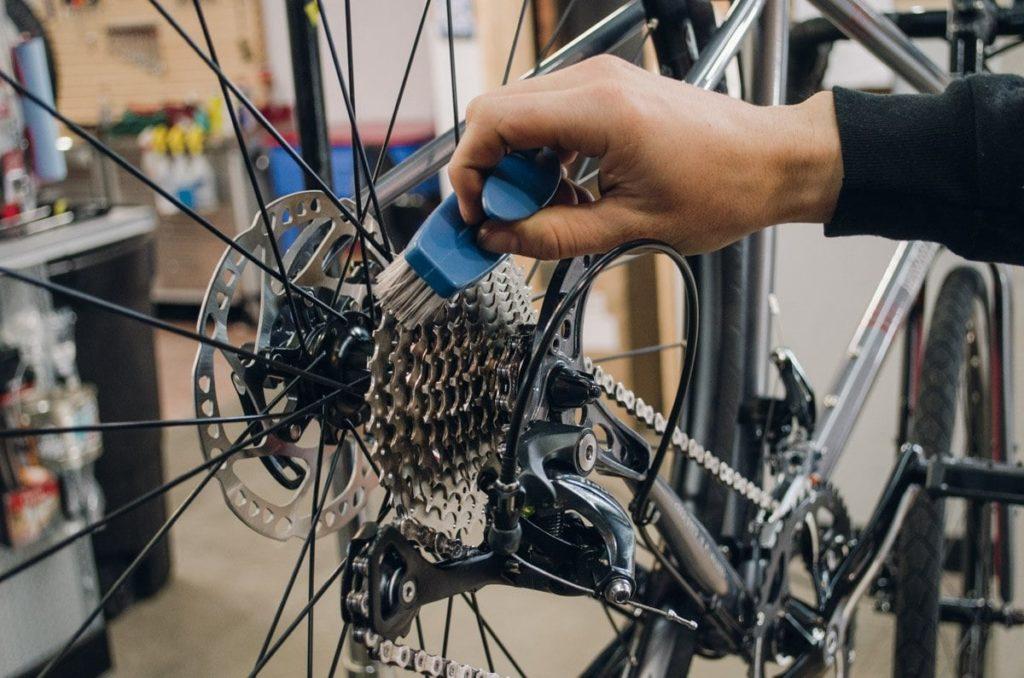 Подготовка велосипеда к тренировке