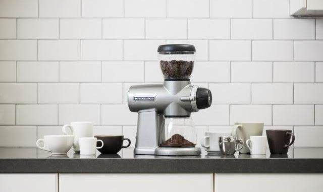 KitchenAid изобрела новый дизайн кофемолки и электронных весов