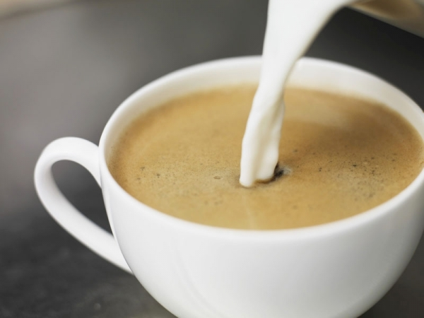 Кофе с молоком? Только свежий!