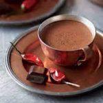 Горячий шоколад с кофе и с перцем чили