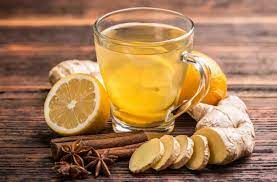 Лимонно-имбирный чай