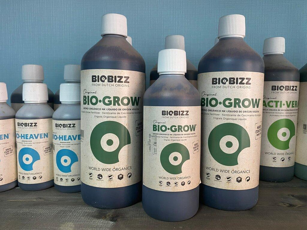 Органическое удобрение Bio-Grow BioBizz — от GrowBoom по очень выгодным летним ценам