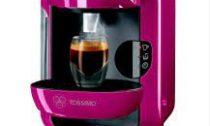 Капсульная кофемашина Bosch Tassimo Vivy предлагается в розовом цвете