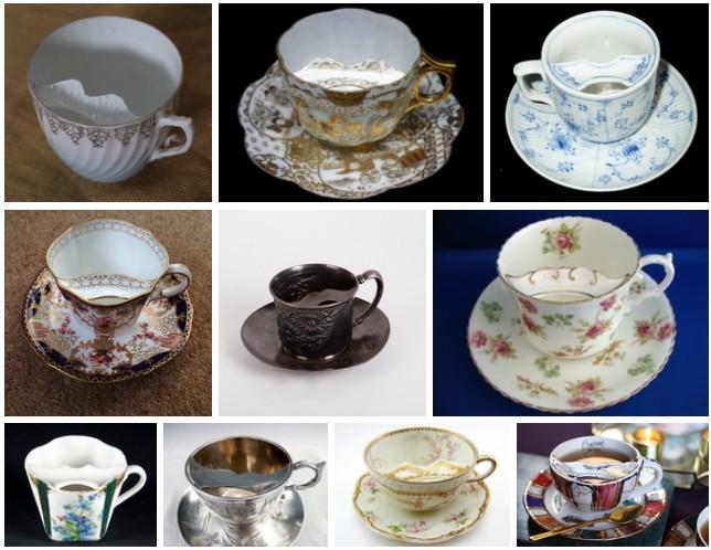 Небольшая подборка moustache cups – «усатых чашек» или «чашек для усачей»