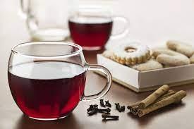 Пряный чай на основе каркаде
