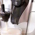 Bosch TCA5309 приготовит кофе с молоком или молочной пеной